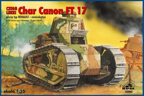 char canon ft 17 w renault 1 35 polish. Black Bedroom Furniture Sets. Home Design Ideas