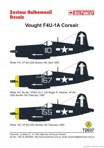 1/72 Vought F4U-1D Corsair