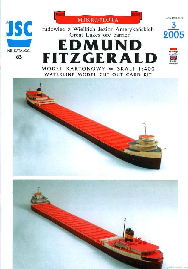 1:400 S.S. Edmund Fitzgerald