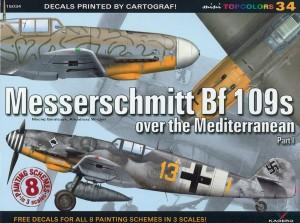 TOPCOLORS 34 -  Bf 109 over the Mediterranean p.I