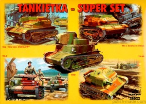 SUPER SET - tankietka - 1/35