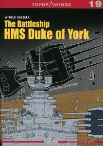 TOPDRAWINGS 19 - HMS DUKE OF YORK '41-46' pancernik