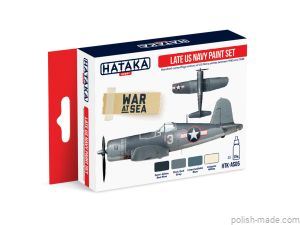 AS05 Late US Navy paint set