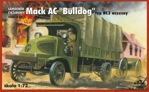 MACK AC 'BULLDOG' t. EHC 3 early - 72401' - 1/72