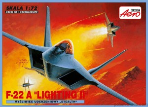 LOCKHEED F-22A LIGHTING II - 1/72