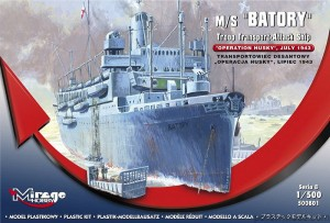 m/s BATORY 'Operation Husky' July 43.  - 1/500