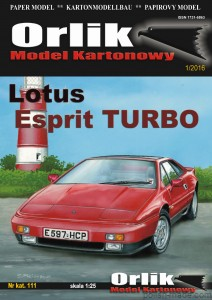 Lotus Esprit TURBO - 111' - 1/25