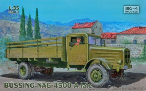 BUSSING-NAG 4500 A late - 1/35