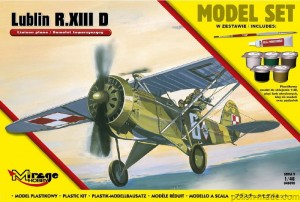 MODEL-SET LUBLIN R.XIII D - 1/48
