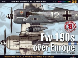 TOPCOLORS 35 - Fw 190s over Europe p.I