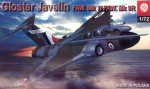 GLOSTER JAVELIN F(AW) Mk. 7/9/9R - 1/72