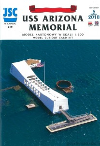 JSC-219 - USS ARIZONA MEMORIAL - 1/200