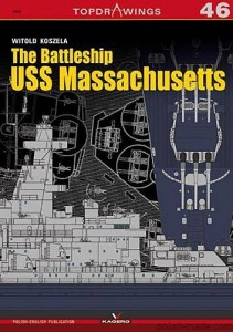 TOPDRAWINGS 46 - USS MASSACHUSETTS pancernik