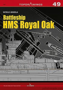 TOPDRAWINGS 49 - HMS ROYAL OAK pancernik