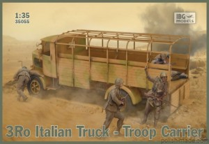 3Ro Italian Truck Troop Carrier - 1/35