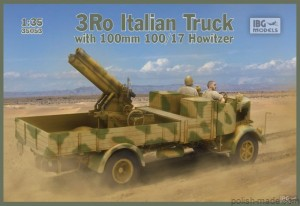 3Ro Truck with 100/17 Howitzer  - 1/35