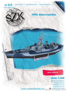 HMS ABERCROMBIE monitor - 019' - 1/200