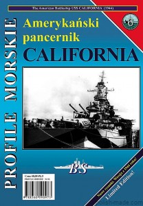 PM-006 - USS CALIFORNIA '44' BB-44 pancernik