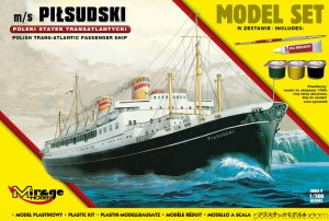 MODEL-SET m/s PIŁSUDSKI - 1/500