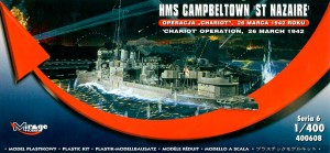 HMS CAMPBELTOWN 26.III.1942 o. CHARIOT - 1/400