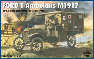 FORD T M1917 ambulans - 72101' - 1/72