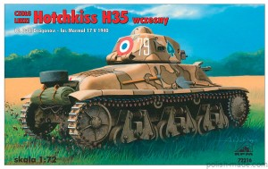 HOTCHKISS H35 early - 72216' - 1/72