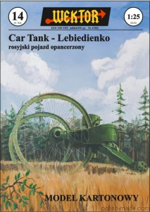 Car Tank - LEBIEDIENKO - nr.14' - 1/25