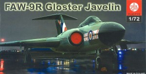 FAW-9R GLOSTER JAVELIN - 1/72
