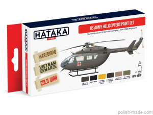AS19 US Army Helicopters Paint Set