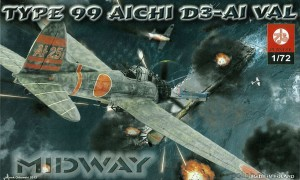AICHI D3-A1 'VAL'  Midway - 1/72