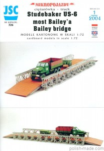 JSC-726 - most BAILEY'A/STUDEBAKER US-6 - 1/72